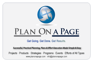 Better Project Management with Plan On a Page